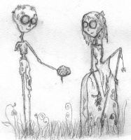 Zombie Love by GaBrIeLlA123