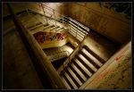 The Nurses Stairwell by lillimouse