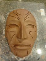 Amon Mask Progress by meanlilkitty