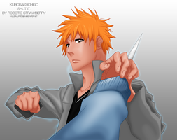 Shut it. Ichigo. by Robotic-Strawberry