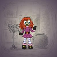 Angela's Magic Lesson - Raggedy by Mr-DNA