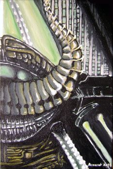Giger tribute by FanOfTill