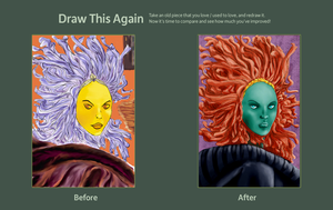 draw this again contest by leseraphin