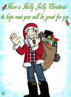 George's Christmas Message by ArcanePhotographer