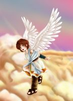 Icarus the Angel by Lady-of-Link