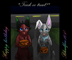 Trick or treat? by Finchwing