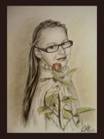 Thank you for the rose by daina-art