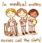 Nurses Call the Shots! by matildarose