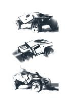 Military Cars by tohas