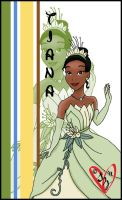 Princess Tiana by sleepyzebra