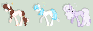 Adoptable Batch - Using my new base! :3 by pixiehannah