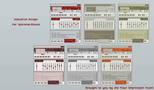 Industrial Design For Winamp by heylove