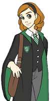 Commission - Harry Potter OC by NanaRamos