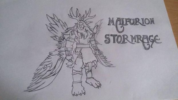 Malfurion Stormrage by Secrets-Are-Quiet