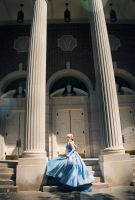Cinderella - On the Steps of the Palace by Eli-Cosplay