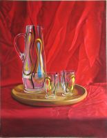 1960's Glass still life by LordSnooty