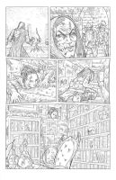 Worlds of Dungeons and Dragons #5, page 7 pencils by JSA