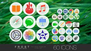 FROST PRO for OS X - ICON SET - **now FREE** by osullivanluke