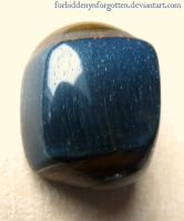 Blue Tiger's Eye by Forbiddenynforgotten