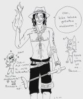 Portgas D. Ace by R-ico