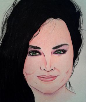 Amy lee by Evanescentgreen