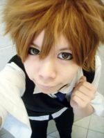 KHR : Tsuna Cosplay Test by LalaxLajui