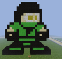 Day 3: Minecraft Reptile by spartan280