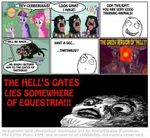 The Hell's Gate is in Equestria!! by INVISIBLEGUY-PONYMAN