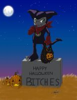 Happy H. from Impmon colored by Impkat