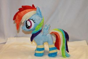 Filly Rainbow Dash by KarasuNezumi