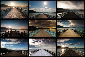 one view - different pictures by zero-