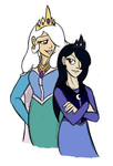 Humanized Celestia and Luna by Mickeymonster