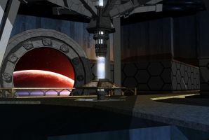Doctor Who TARDIS interior concept by MrPacinoHead