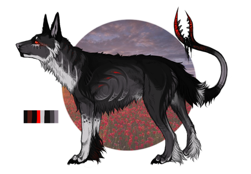 Lupine Auction by Disillusioned-Adopts