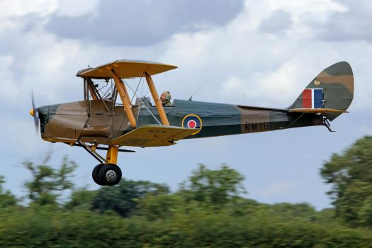 de Havilland DH.82a Tiger Moth by Daniel-Wales-Images