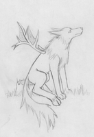 Uhhhh... Wolf Thing by Leucrotta