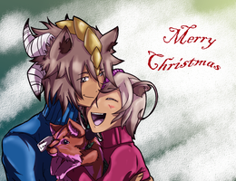 Merry Sibling Christmas by AyaAkuisamu