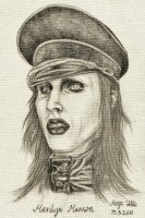 Marilyn Manson II by Kamm0