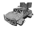 Tobruk Light Fire Support Vehicle by TheCentipede