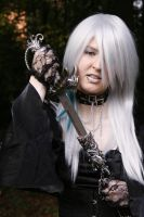 Gothic3 with sword 3 by Noirin-Stock