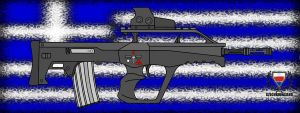 Fictional Firearm: HC-006 by CzechBiohazard