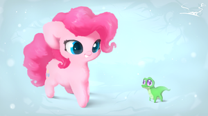 Pinkie Pie and Gummy by Sverre93