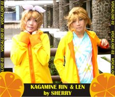 twin kagamine by sherry by SherryMichaelis