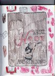 Hook and Jill Book Cover Sketch by piratequeenneverland