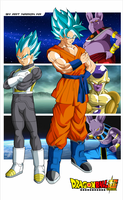 DRAGON BALL SUPER POSTER SAGAS by naironkr