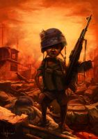 child soldier by poibuts