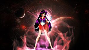 Sailor Mars (Wallpaper) by Hardii