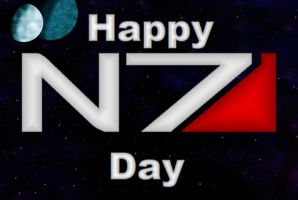 N7 Day. by LadyIlona1984