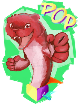 Weekly Painting 4: Pop goes the weasel~ by shantais