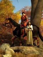 Autumn Knight by deskridge